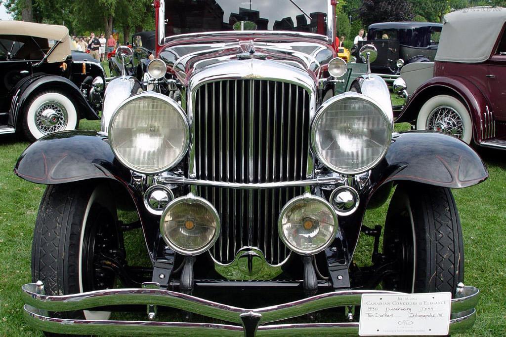 Duesenberg J Hibbard & Darrin Imperial Cabriolet - Chassis: 2275 J-254   - 2004 Canadian Concours d'Elegance