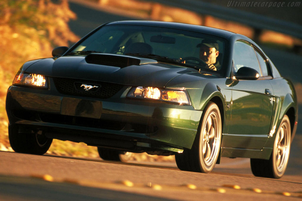 2001 ford mustang bullitt gt images specifications and information. Black Bedroom Furniture Sets. Home Design Ideas