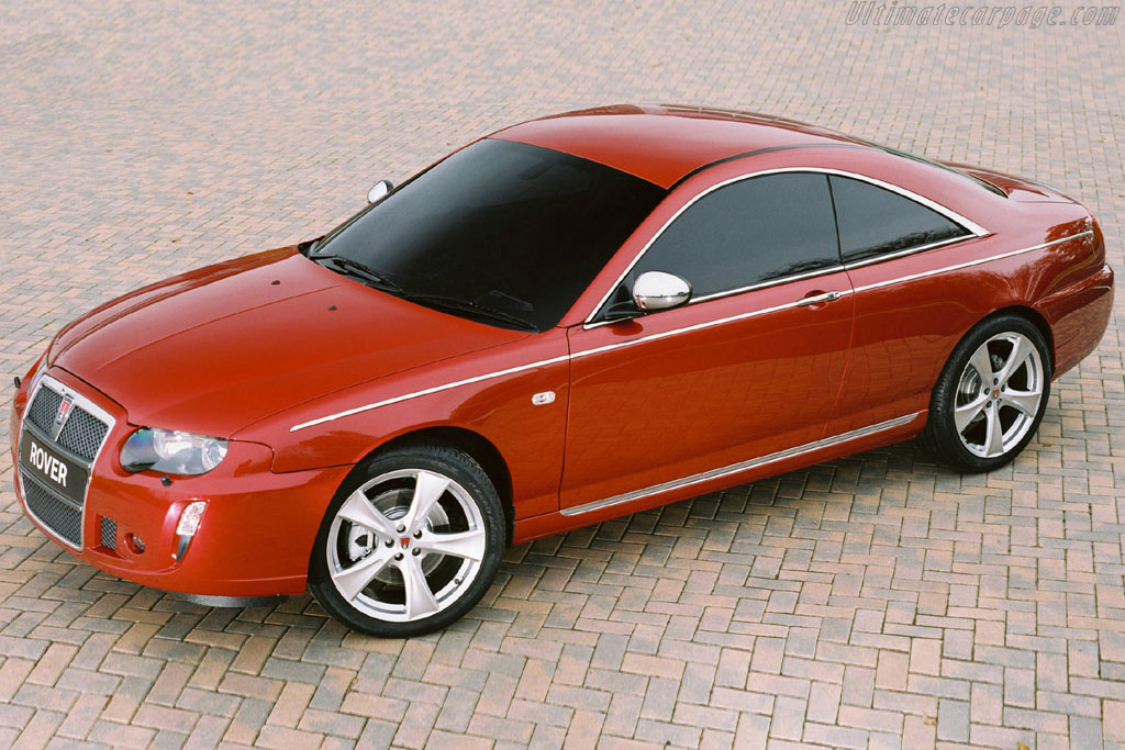 Click here to open the Rover 75 Coupe Concept gallery