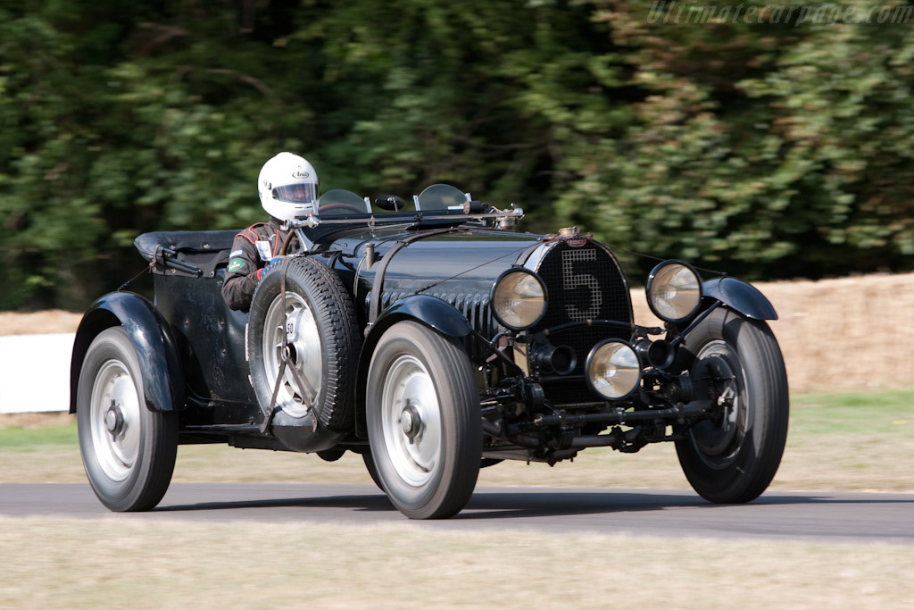 Bugatti Type 50S Le Mans - Chassis: 50177   - 2009 Goodwood Festival of Speed