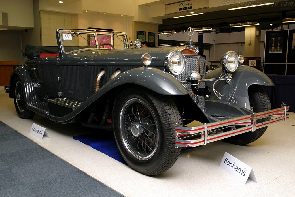 Click here to open the Mercedes-Benz 710 SS 27/140/200 hp Castagna Roadster Cabriolet gallery
