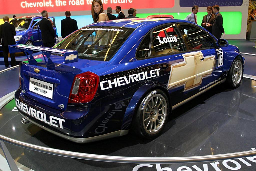 Chevrolet Nubira WTCC    - 2004 Mondial de l'Automobile Paris