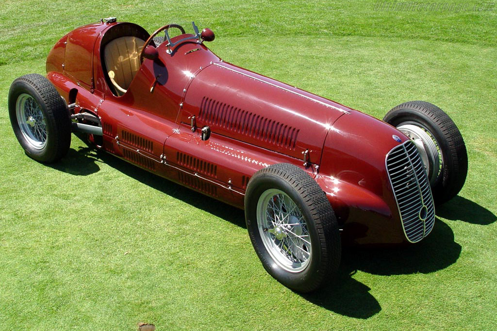 Click here to open the Maserati 4CL gallery