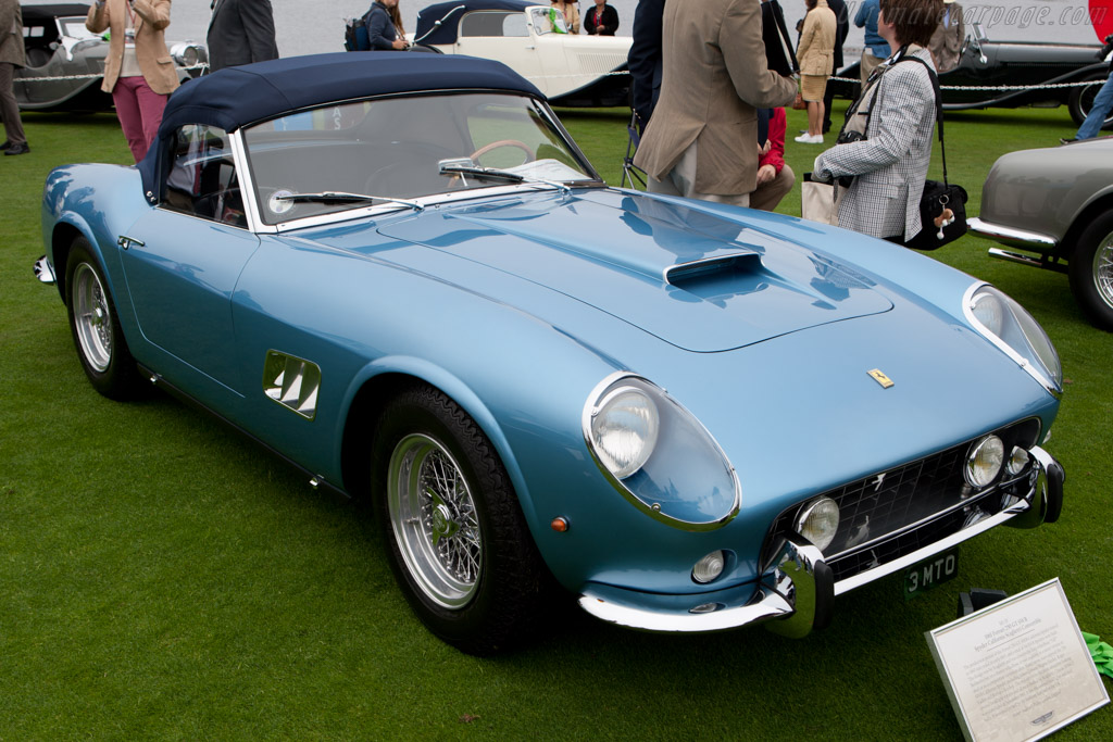 Ferrari 250 GT SWB California Spyder - Chassis: 3059GT   - 2010 Pebble Beach Concours d'Elegance