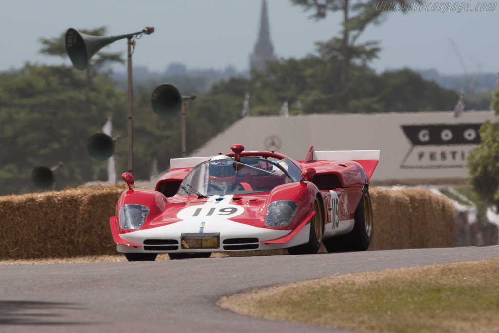 Ferrari 512 S - Chassis: 1016  - 2010 Goodwood Festival of Speed