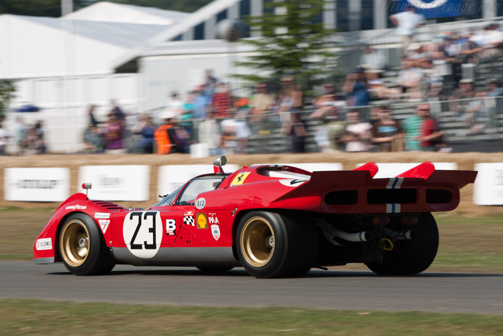 Ferrari 512 S - Chassis: 1006   - 2009 Goodwood Festival of Speed