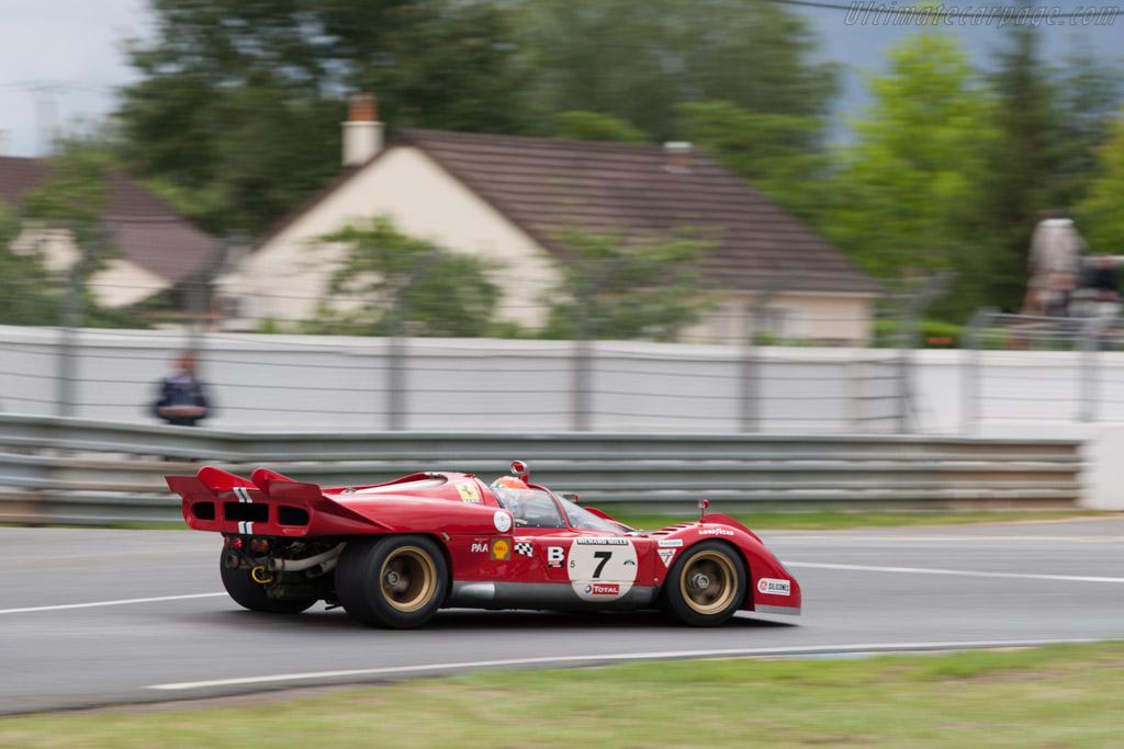 Ferrari 512 S - Chassis: 1006   - 2012 Le Mans Classic