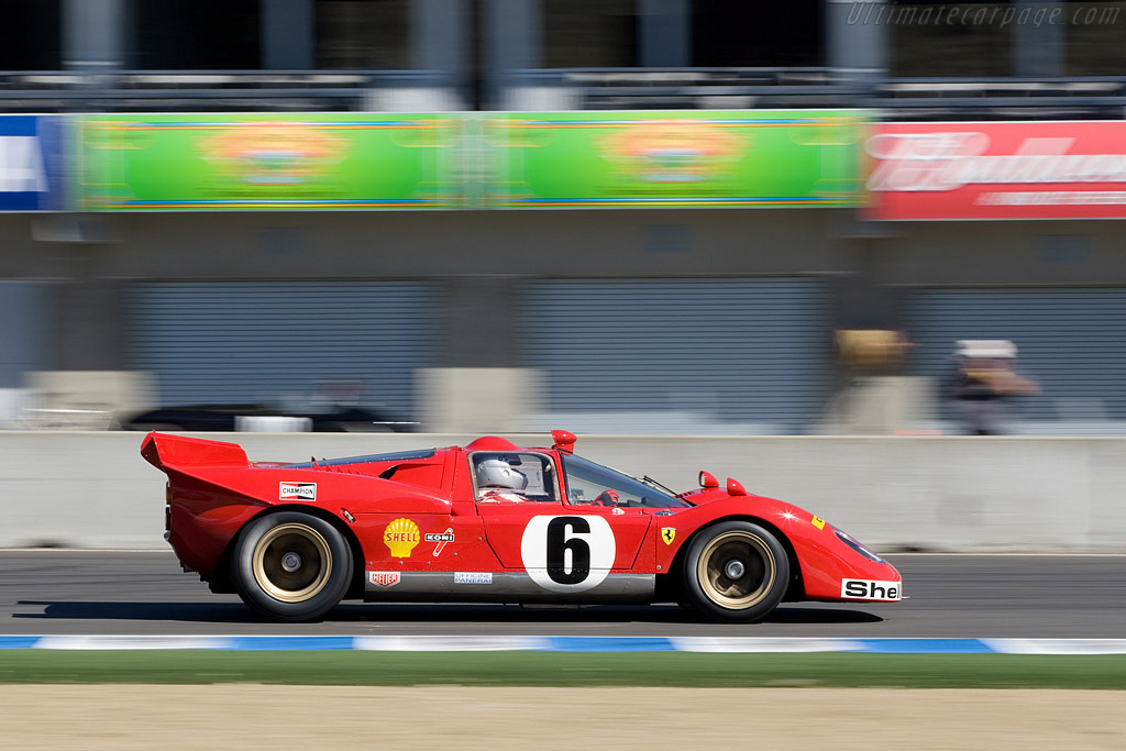 Ferrari 512 S - Chassis: 1046   - 2008 Monterey Historic Automobile Races