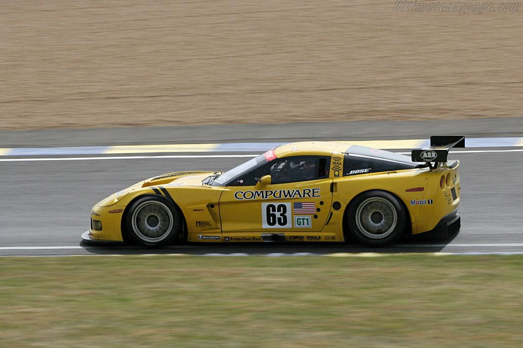 Chevrolet Corvette C6.R - Chassis: 001   - 2005 Le Mans Test