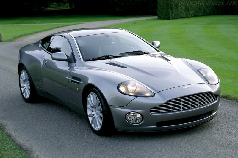 Click here to open the Aston Martin Vanquish gallery