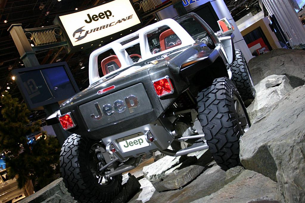 Jeep Hurricane Concept 2005 North American International Auto Show
