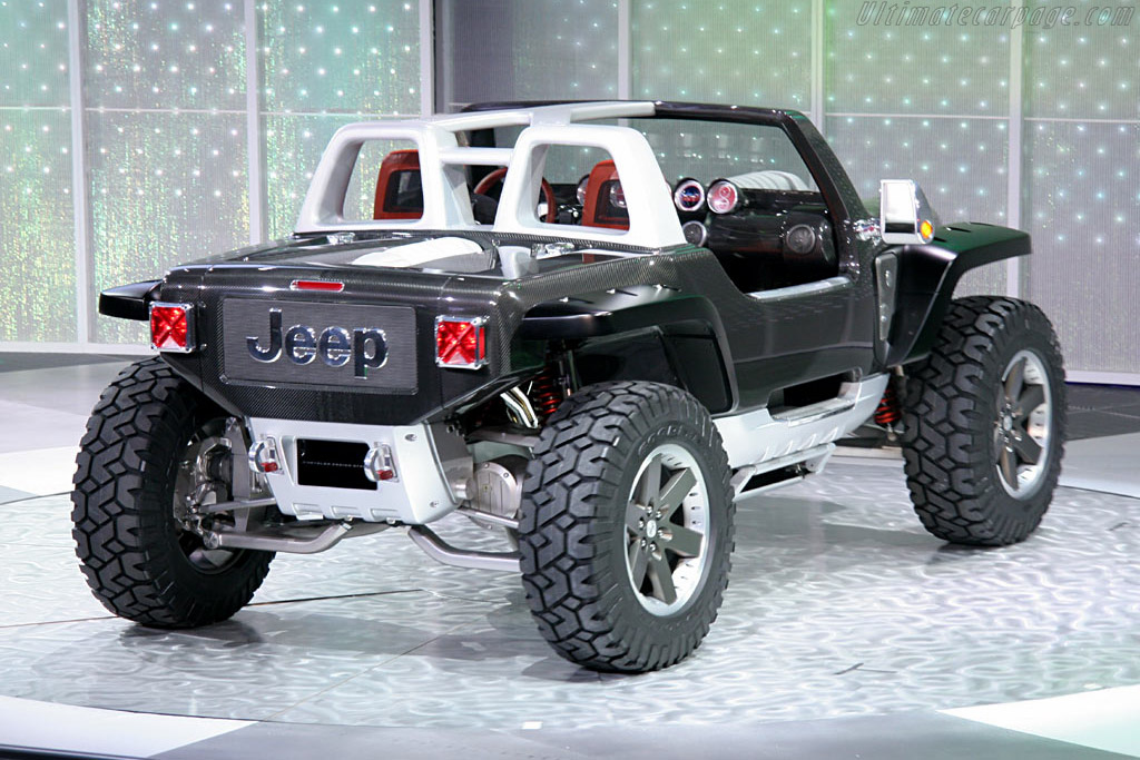 Jeep Hurricane Concept    - 2005 North American International Auto Show (NAIAS)