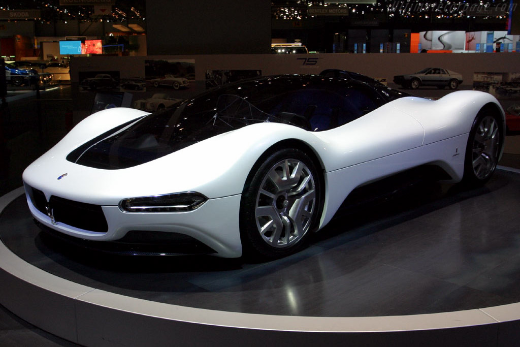 2005 Maserati Birdcage 75th Concept - Images ...