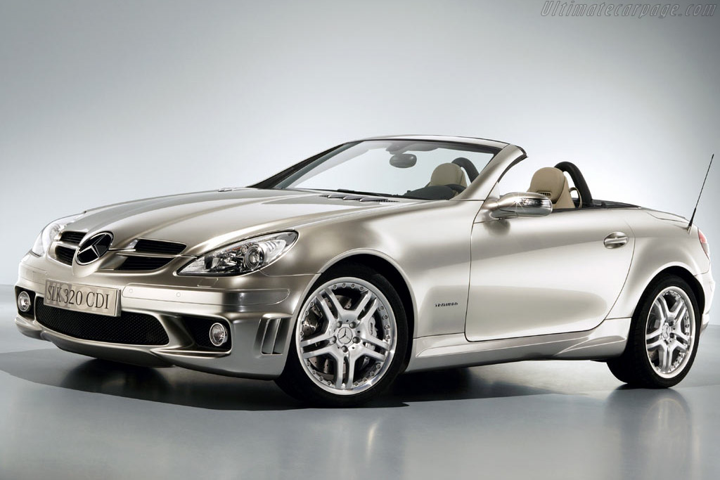 Click here to open the Mercedes-Benz SLK 320 CDI Tri-Turbo gallery