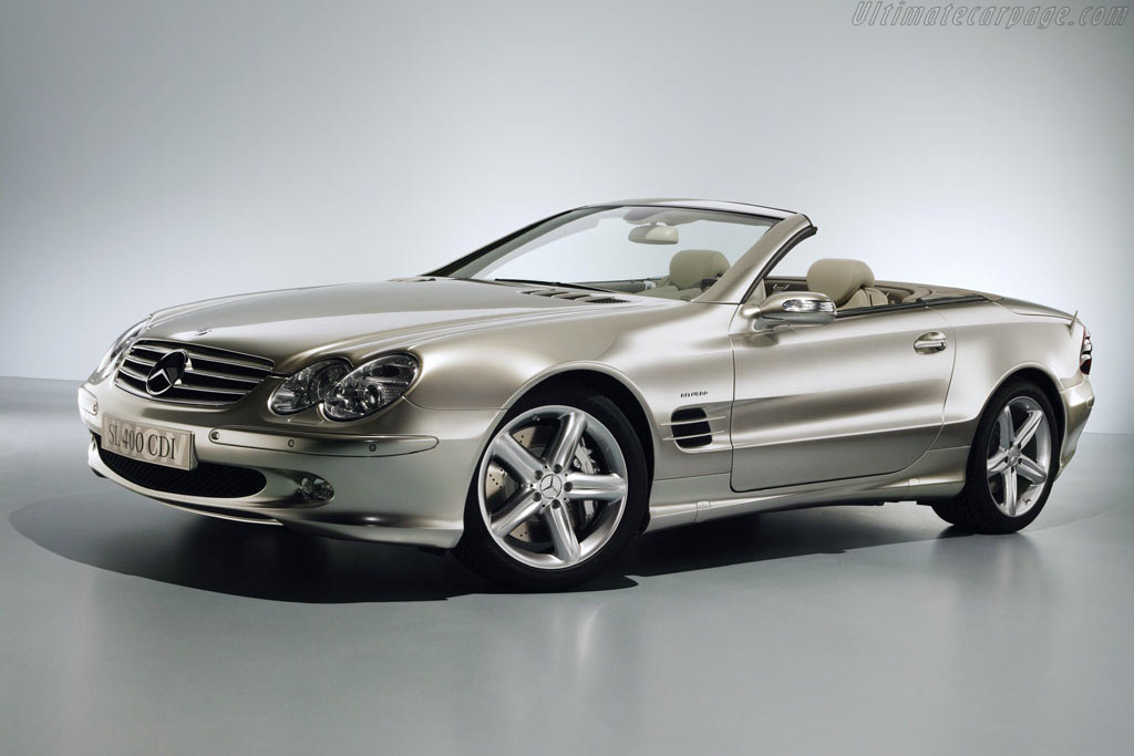 Click here to open the Mercedes-Benz Vision SL 400 CDI gallery