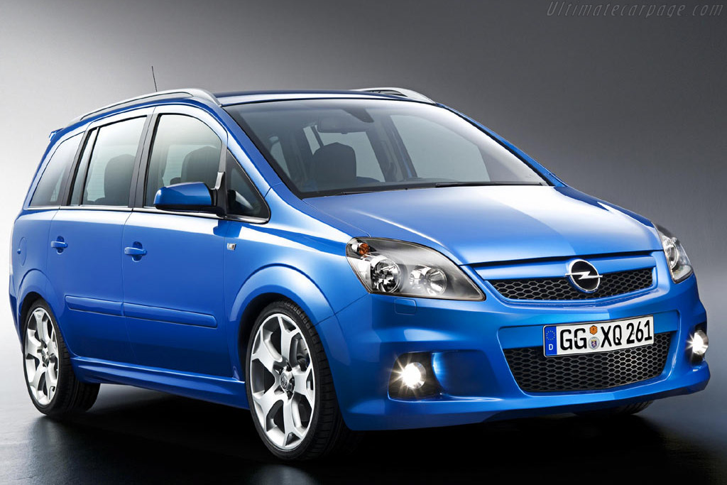 Click here to open the Opel Zafira OPC gallery