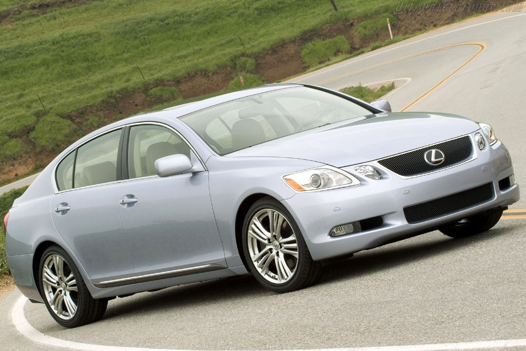 Click here to open the Lexus GS 450h gallery