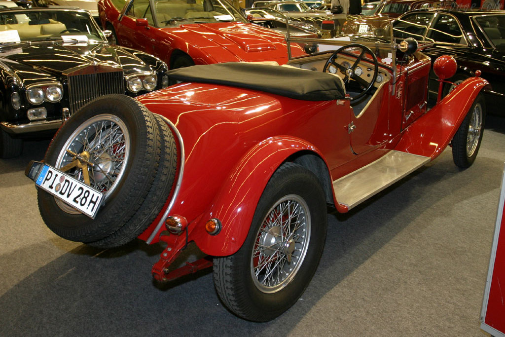 Alfa Romeo 6C 1500 Sports Two Seater - Chassis: 0111200   - 2005 Retromobile