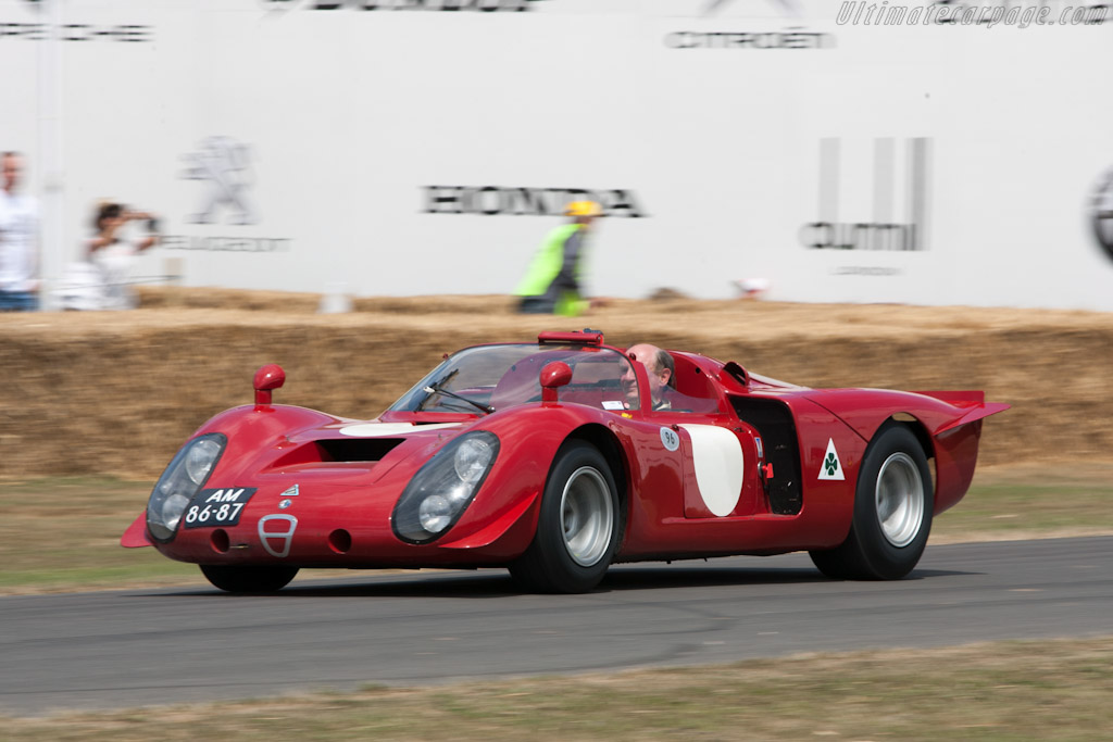Alfa Romeo 33/2 Daytona - Chassis: 75033.029   - 2010 Goodwood Festival of Speed