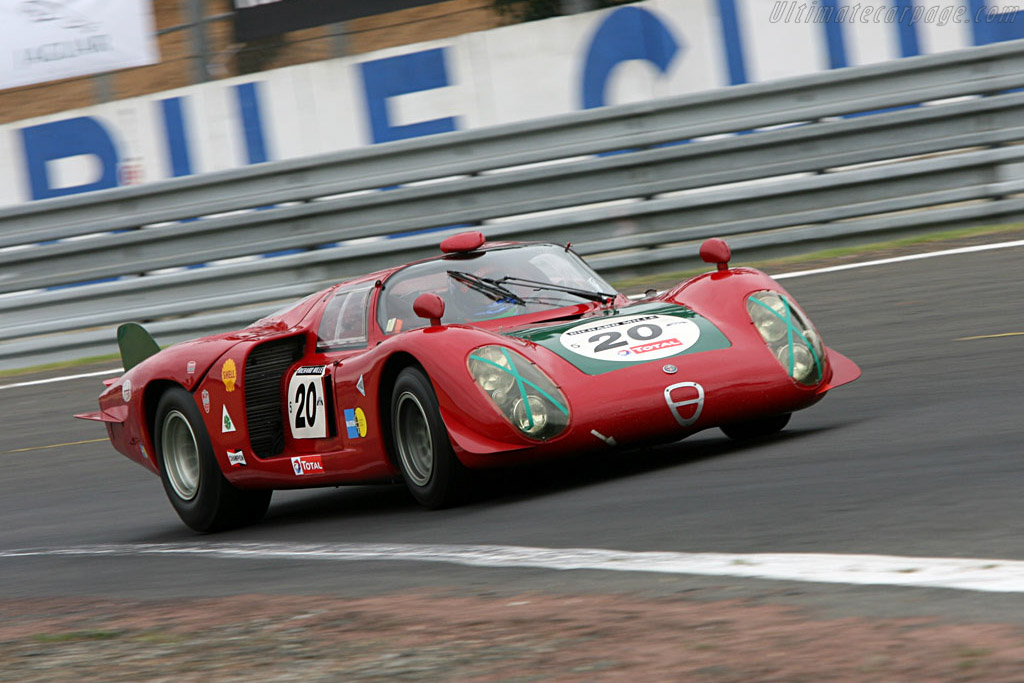 Click here to open the Alfa Romeo 33/2 Daytona Coda Lunga gallery