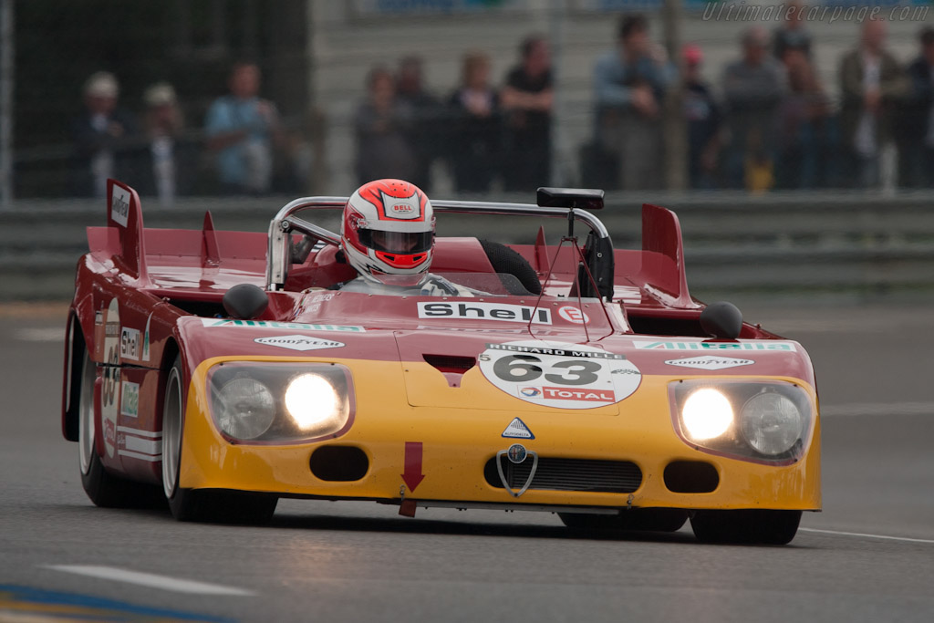 1971 - 1972 Alfa Romeo 33/TT/3 - Images, Specifications and Information