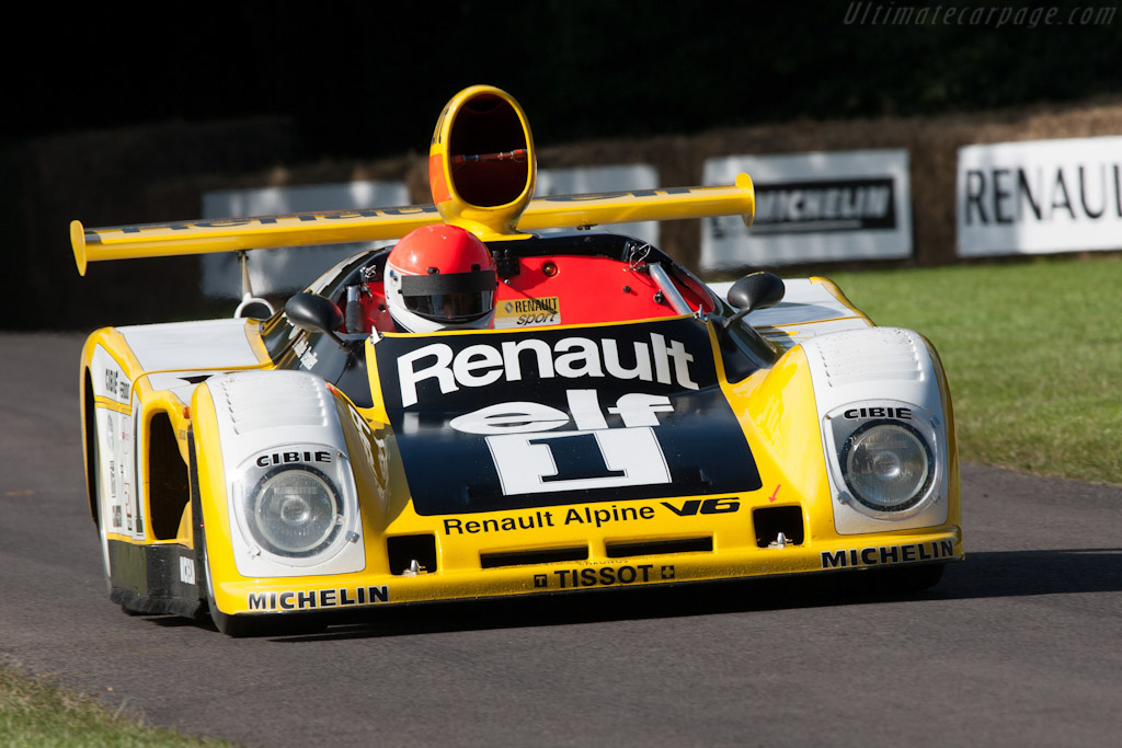 Renault-Alpine A443 - Chassis: 443/0   - 2012 Goodwood Festival of Speed
