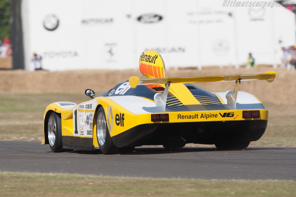 Renault-Alpine A443 - Chassis: 443/0   - 2010 Goodwood Festival of Speed