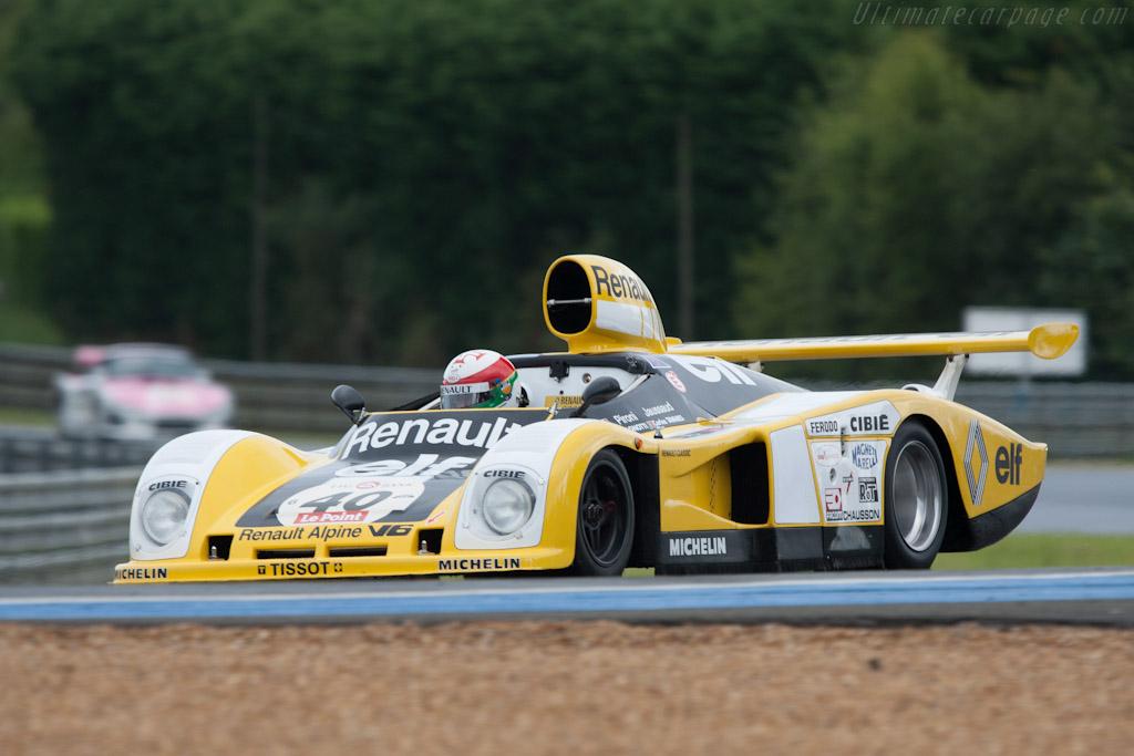 Renault-Alpine A442B - Chassis: 442/3   - 2012 Le Mans Classic