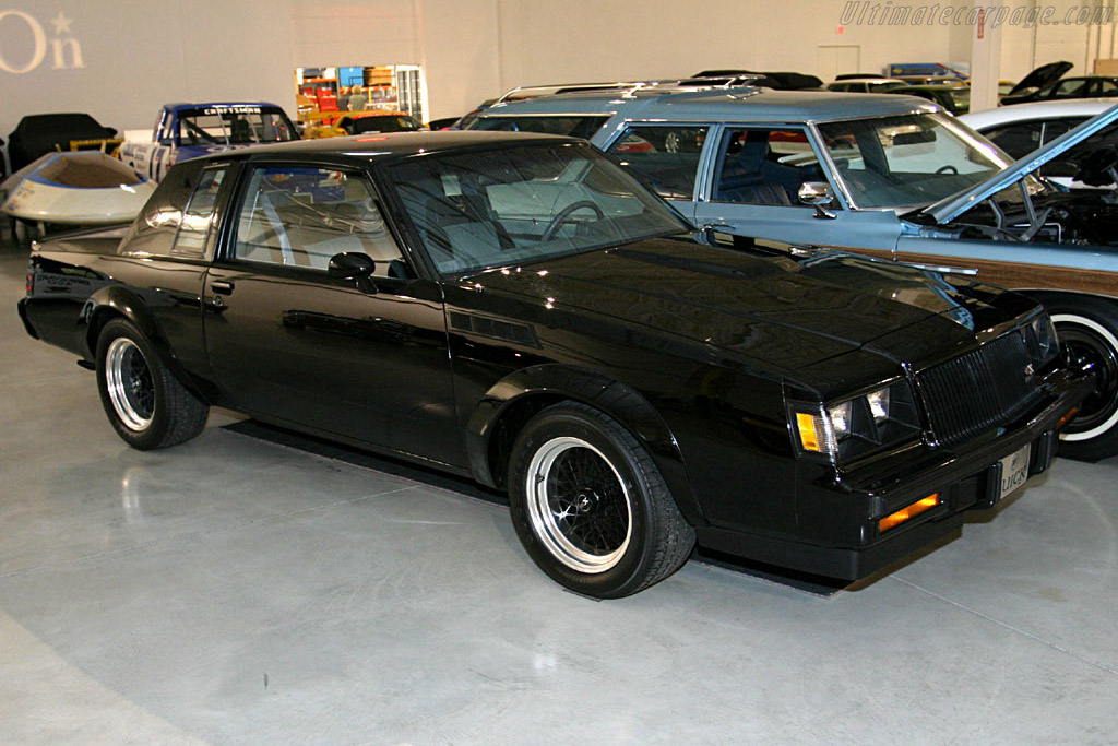 Click here to open the Buick Grand National GNX gallery
