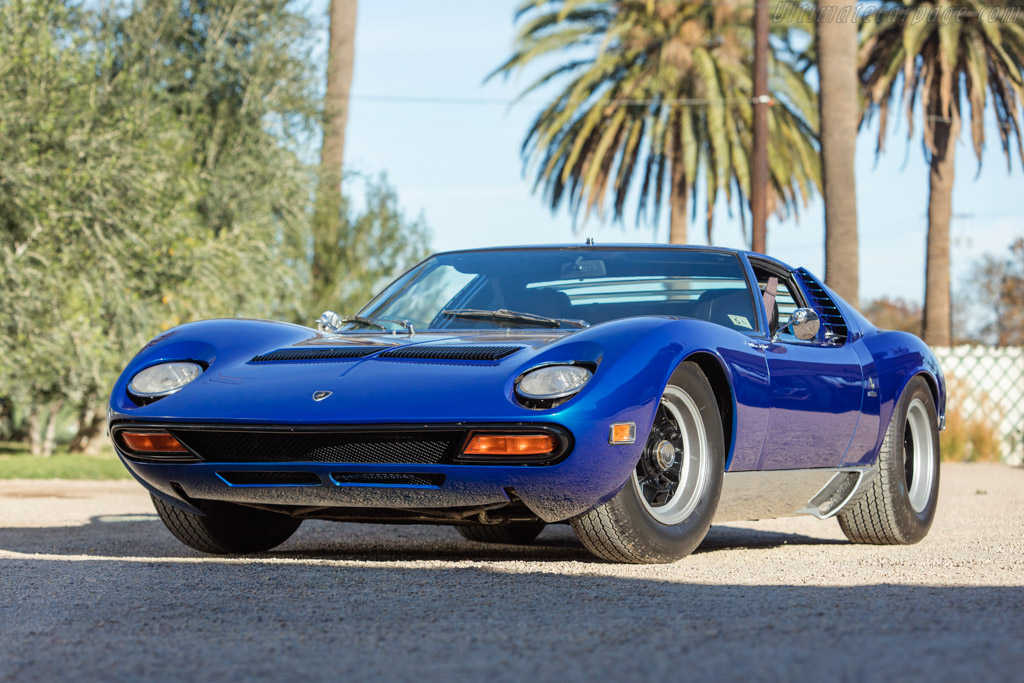 1971 Lamborghini Miura P400 Sv Chassis 4976 Ultimatecarpage Com