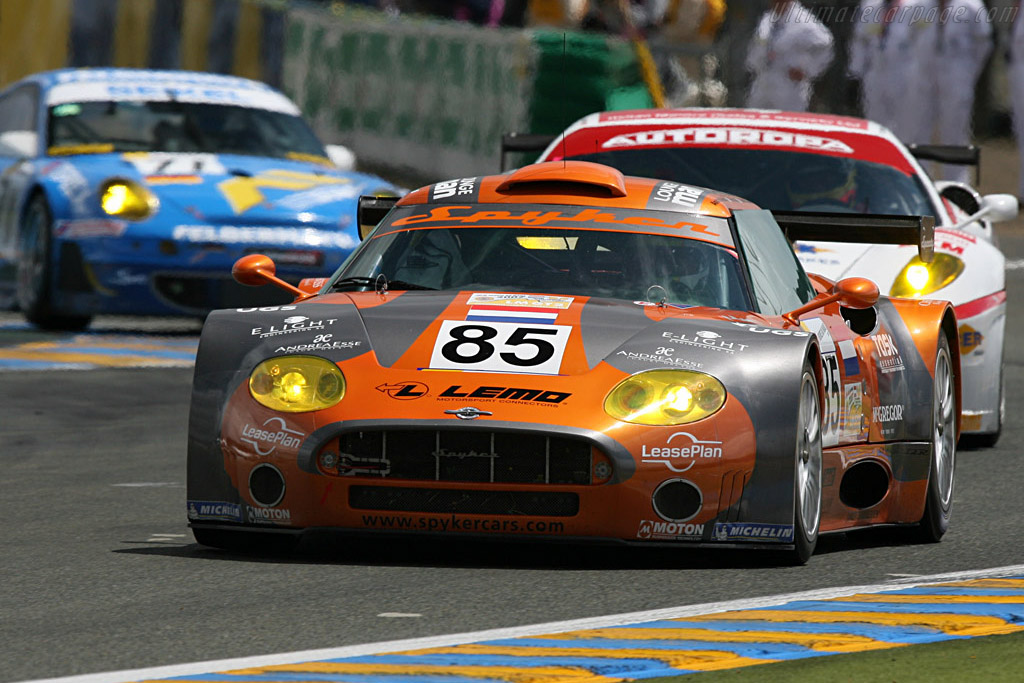 Spyker C8 Spyder GT2-R - Chassis: XL9GB11HX50363097   - 2007 24 Hours of Le Mans