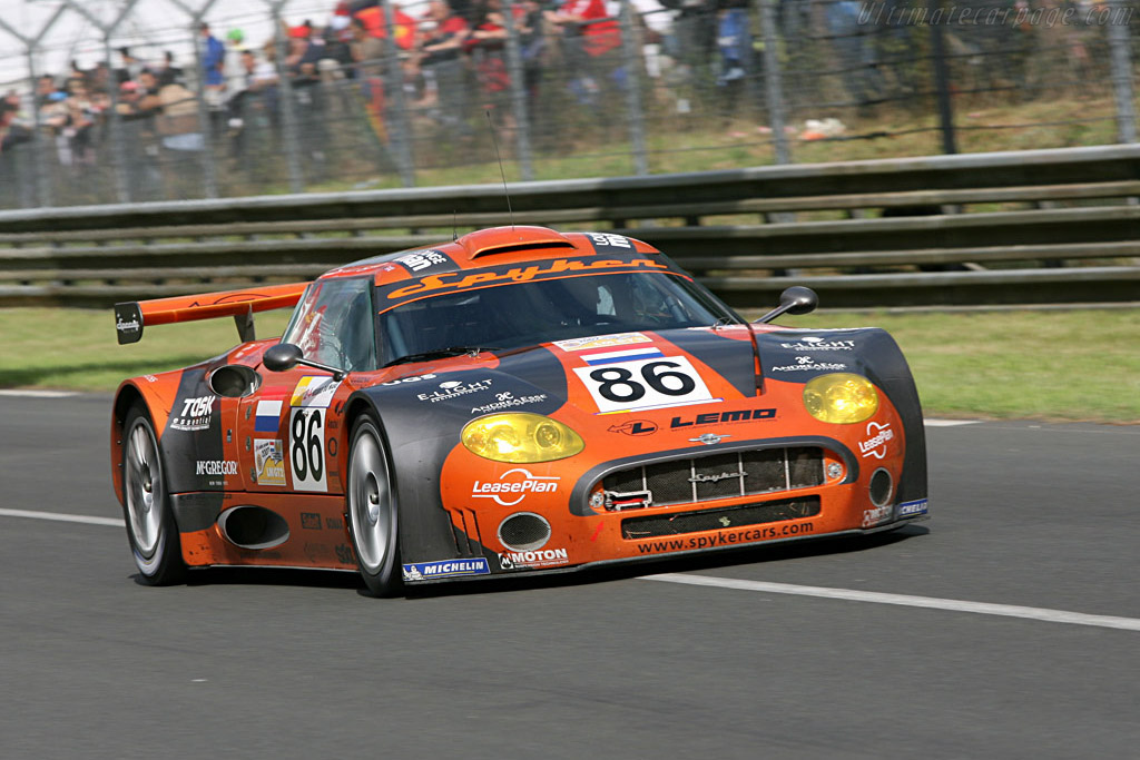 Spyker C8 Spyder GT2-R - Chassis: XL9GB11H150363098   - 2007 24 Hours of Le Mans