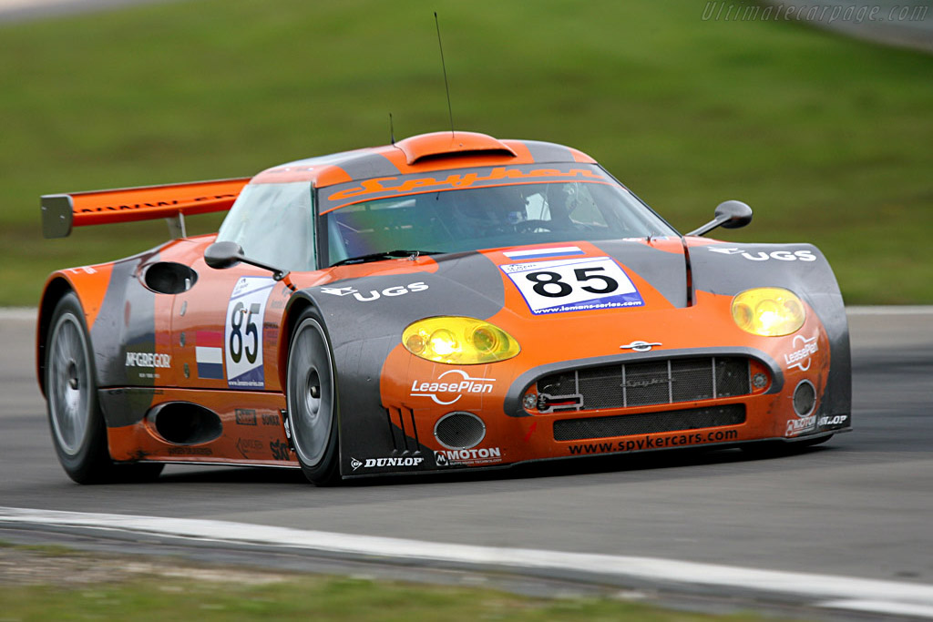 Spyker C8 Spyder GT2-R - Chassis: XL9GB11H150363098   - 2007 Le Mans Series Nurburgring 1000 km