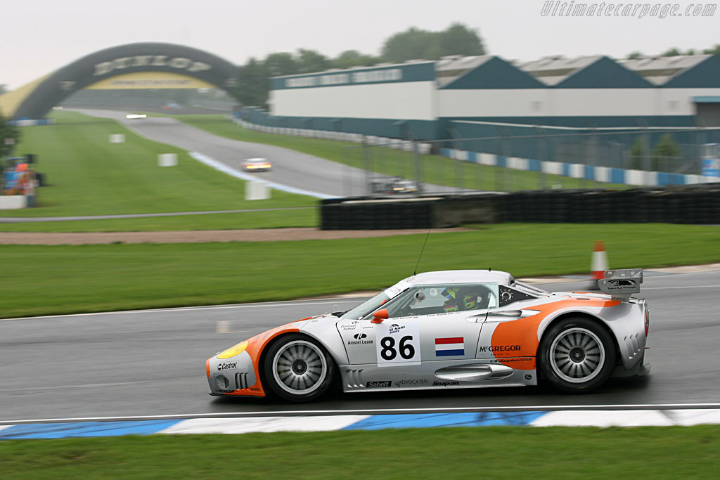 Spyker C8 Spyder GT2-R - Chassis: XL9CD31G55Z363046   - 2006 Le Mans Series Donnington 1000 km