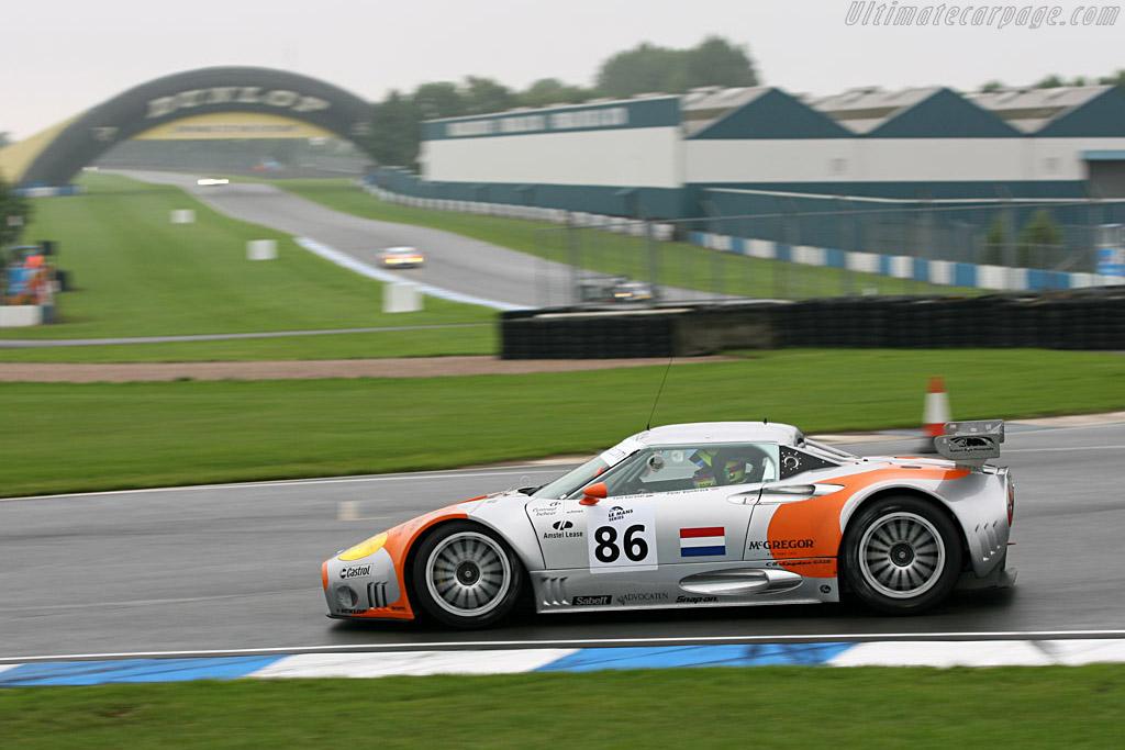 Spyker C8 Spyder GT2-R - Chassis: XL9CD31G55Z363046   - 2006 Le Mans Series Donnington 1000 km