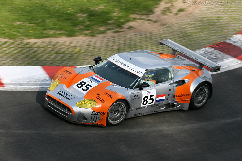 Spyker C8 Spyder GT2-R - Chassis: XL9CD31G55Z363046   - 2006 Le Mans Series Spa 1000 km