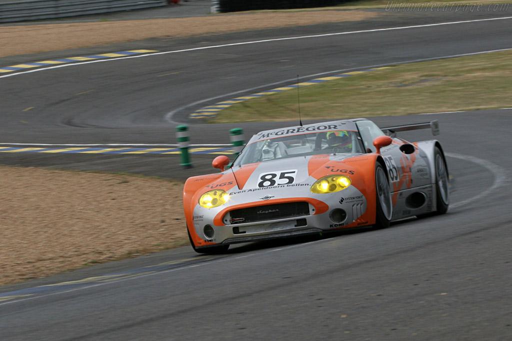 Spyker C8 Spyder GT2-R - Chassis: XL9CD31G55Z363046   - 2005 Le Mans Test