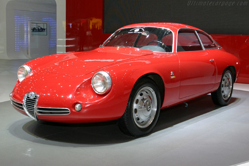 Click here to open the Alfa Romeo Giulietta SZ Coda Tronca gallery
