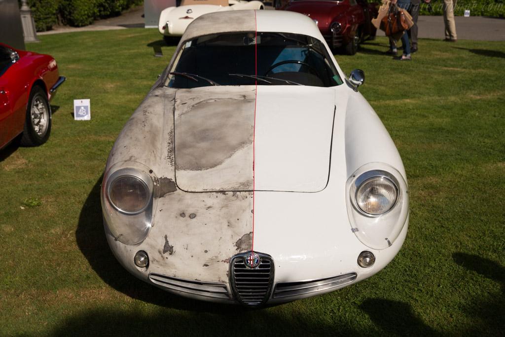 Alfa Romeo Giulietta SZ Coda Tronca - Chassis: AR10126 00170   - 2016 Concorso d'Eleganza Villa d'Este