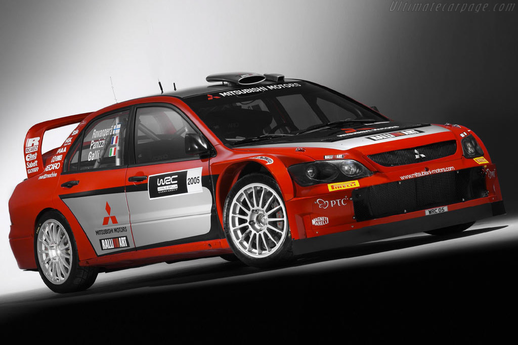 2005 Mitsubishi Lancer WRC05 - Images, Specifications and Information