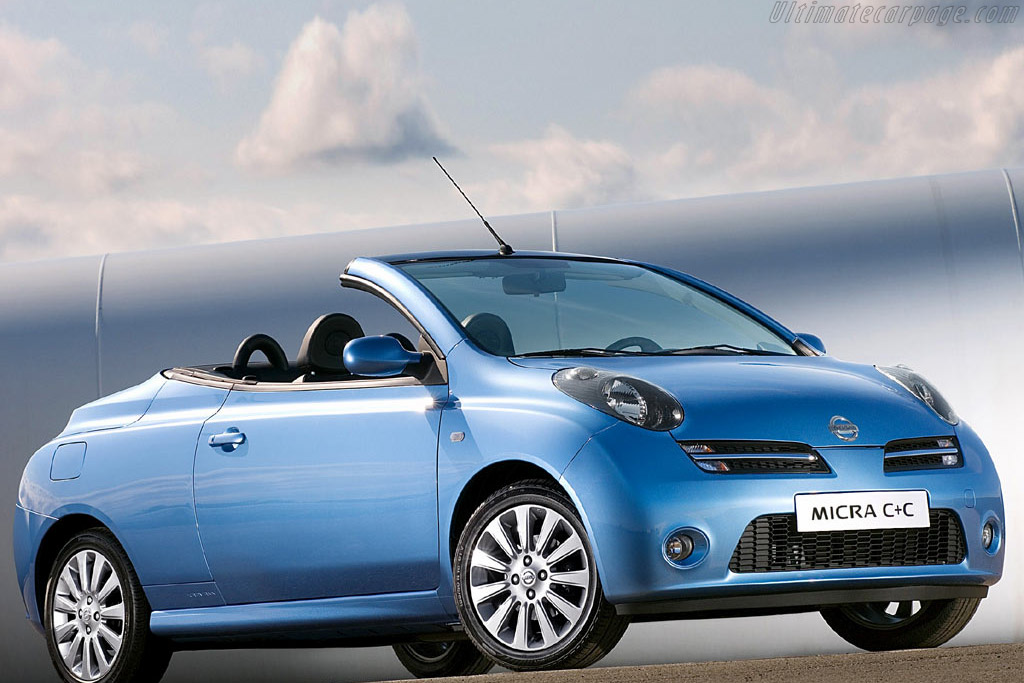 Click here to open the Nissan Micra C+C gallery