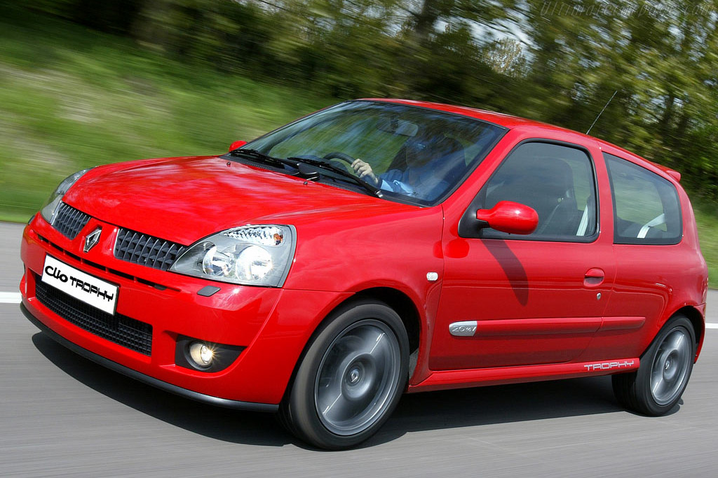 2005 Renault Clio Sport 182 Trophy Images Specifications And Information
