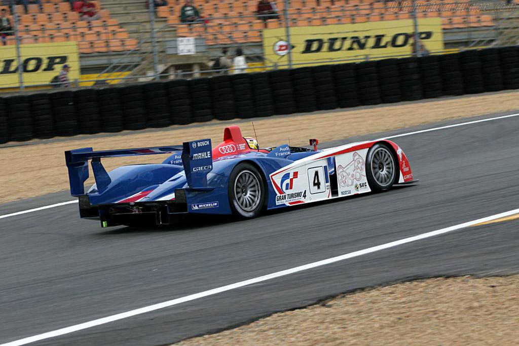 Audi R8 - Chassis: 603   - 2005 Le Mans Test