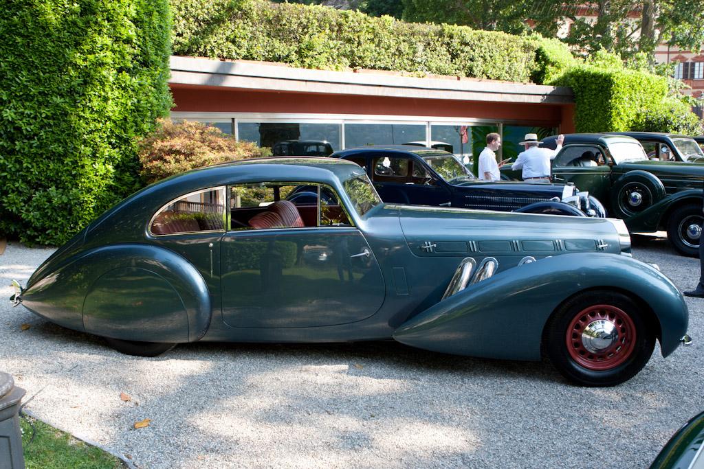 Delage D8-120 Pourtout Coupe - Chassis: 51612   - 2011 Concorso d'Eleganza Villa d'Este