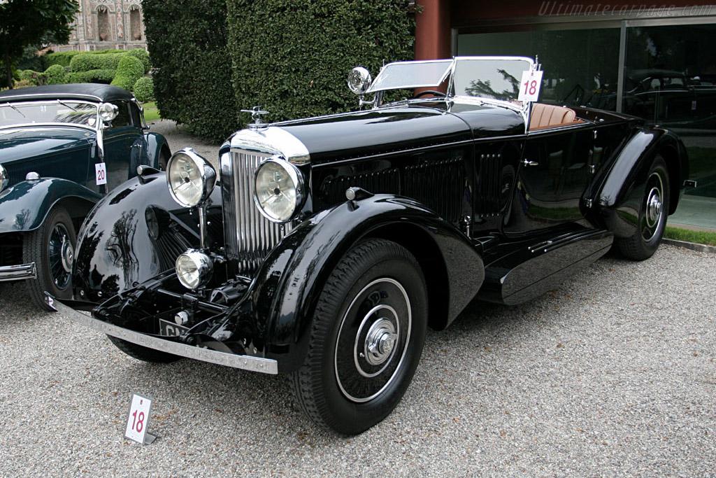 1931 Bentley 8 Litre Barker Boat Tail Tourer Images