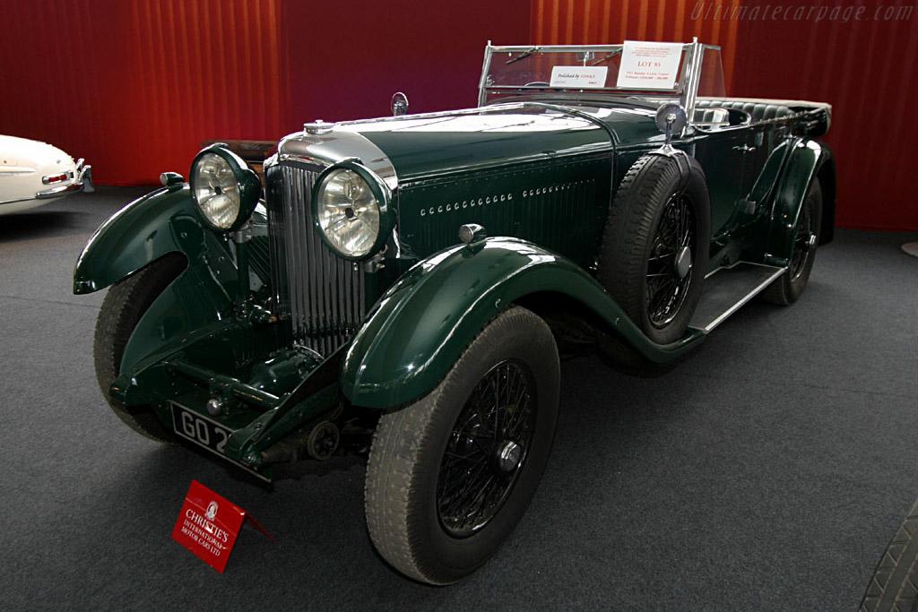 1931 Bentley 8 Litre Gurney Nutting Open Tourer Images