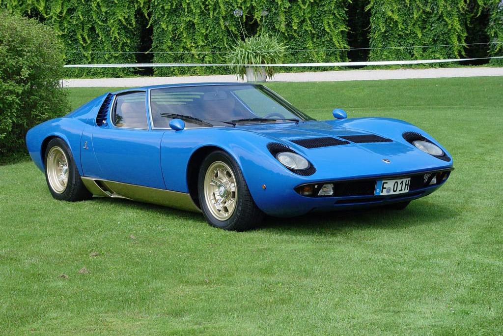 1967 1969 Lamborghini Miura P400 Images Specifications And