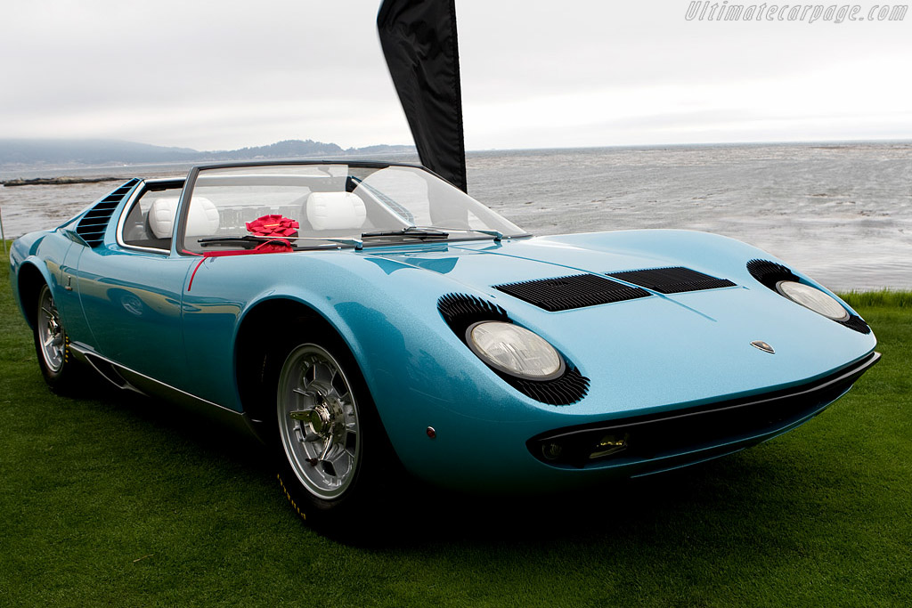 Click here to open the Lamborghini Miura P400 Roadster gallery