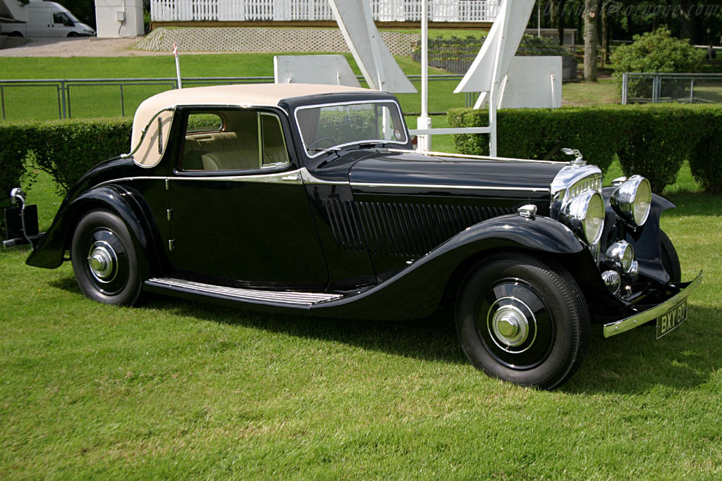 Click here to open the Bentley 3½ Litre Barker Fixed Faux Cabriolet gallery