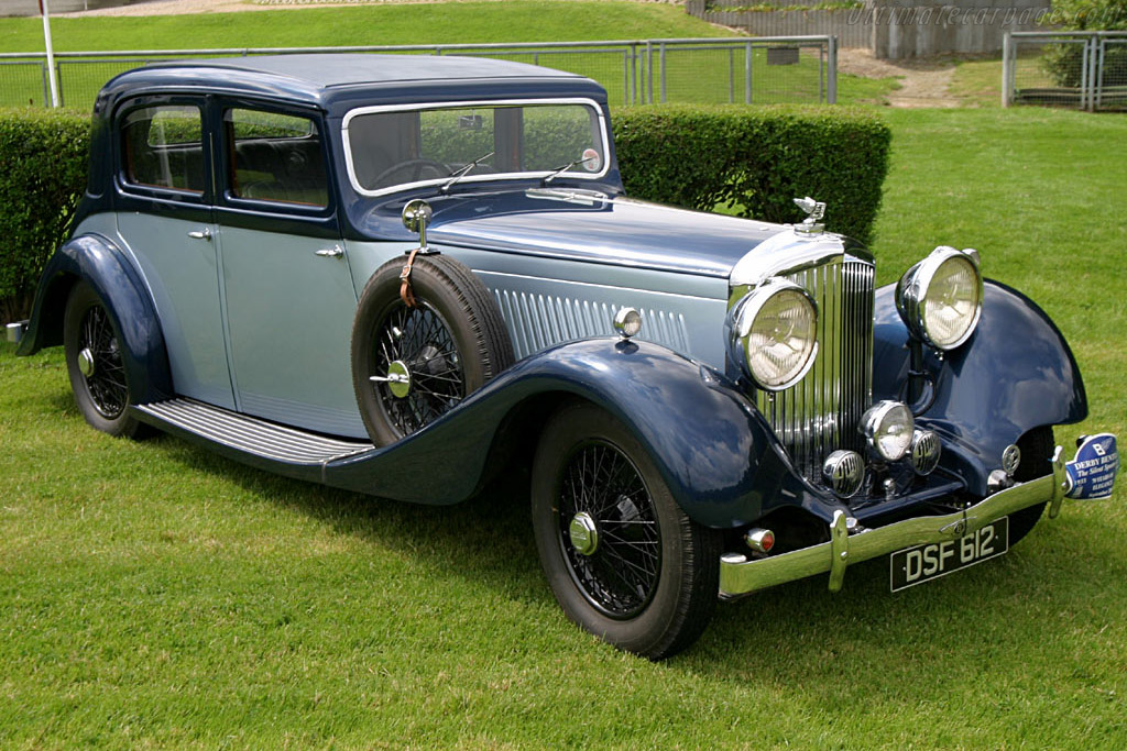 Click here to open the Bentley 4¼ Litre Hooper Sports Saloon gallery